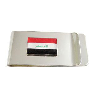 Iraq Flag Money Clip